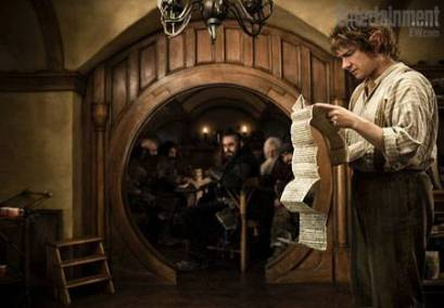 A still from the new Hobbit movie.