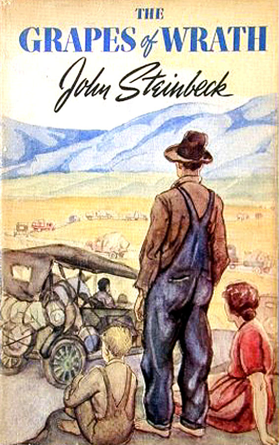 the downfall of a family in the grapes of wrath by john steinbeck The grapes of wrath by john steinbeck language & literary studies / fiction classics / classics / contemporary fiction  towards california, where they hope to find work and a future for their family but while the journey to this promised land will take its inevitable toll, there remains uncertainty about what awaits their arrival  .